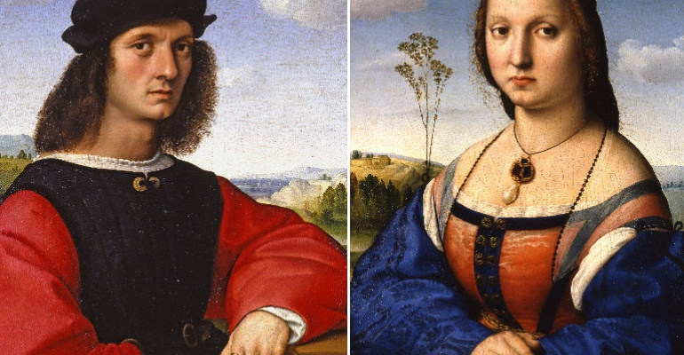Тайны пяти портретов Рафаэля Санти