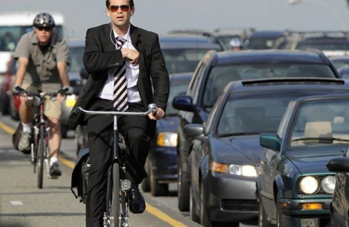 На работу — за 1 рубль: петербуржцы пересядут на велосипеды