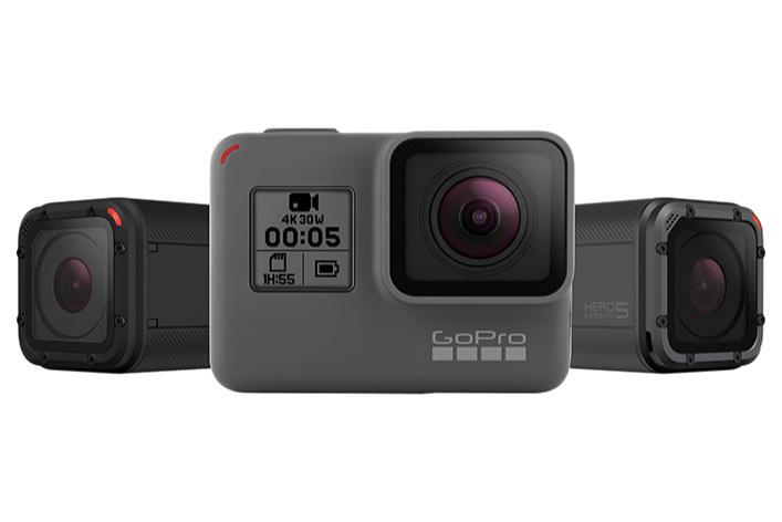 GoPro представляет новое поколение HERO5: самых мощных и удобных в использовании камер