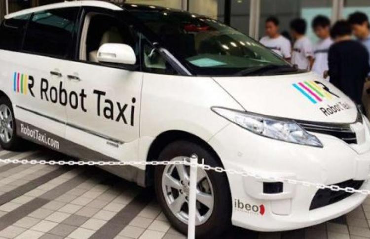 В Москве планируют запустить беспилотные такси
