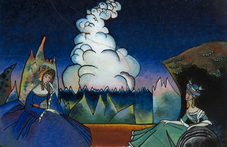 Выставка «Василий Кандинский и Россия»