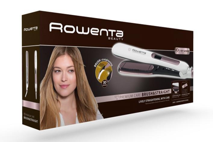 Расческа-выпрямитель 2 в 1 Brush&Straight SF7510 от ROWENTA: вы не узнаете свои волосы!
