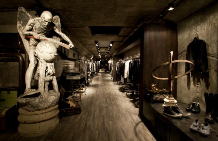 6 московских магазинов с необычным интерьером