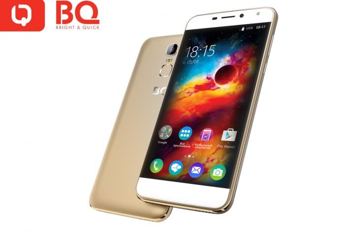 В продаже появился новый мощный и стильный смартфон от российского бренда BQ - BQS-5520 Mercury