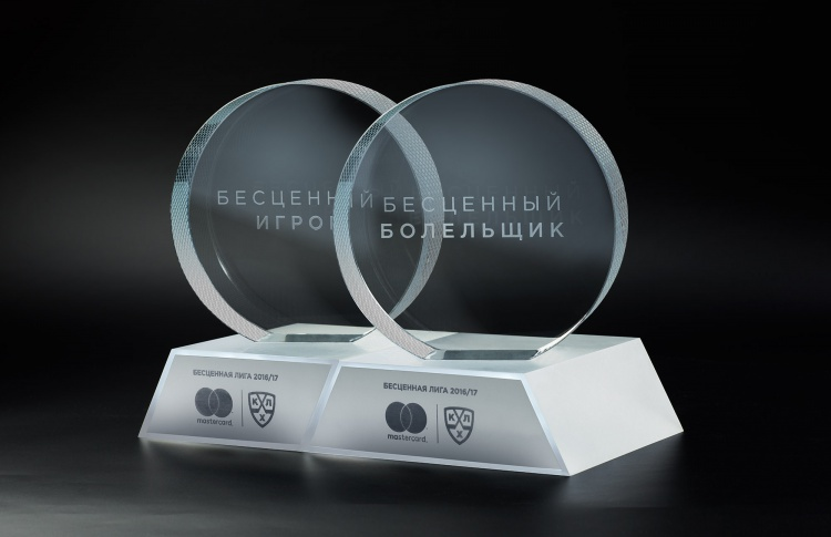Mastercard и КХЛ создали первый единый трофей для болельщиков и игроков хоккейных клубов