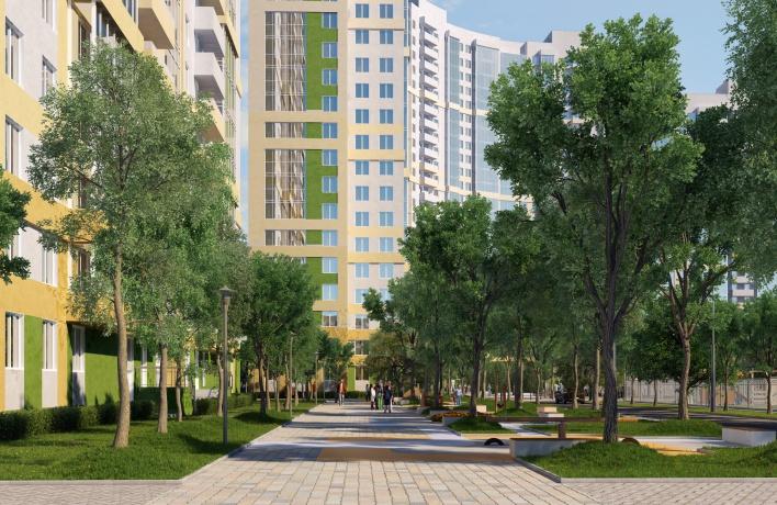 Есть ли в Петербурге «зеленые» дома?