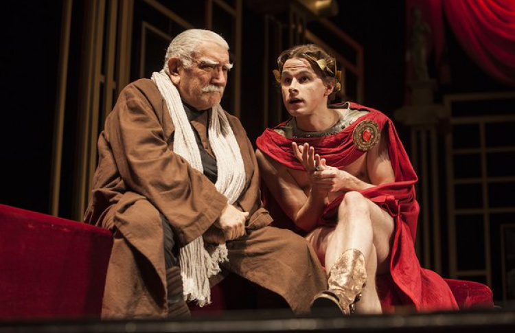 Спектакль «Театр времен Нерона и Сенеки»