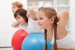 В фитнес-клуб всей семьей