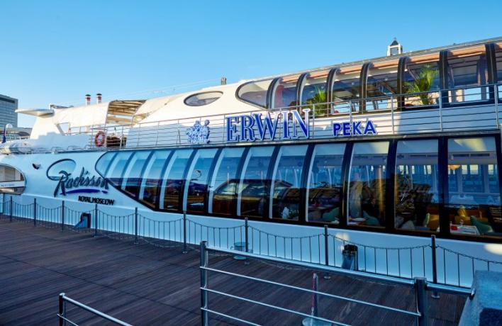 Ресторан Erwin поселился на яхте
