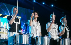 Состязание барабанных шоу Drum show contest
