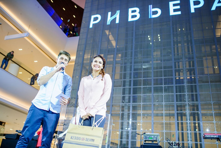 7 часов модного показа и беспрерывного танца на открытии шопинг-зоны в «Ривьере»