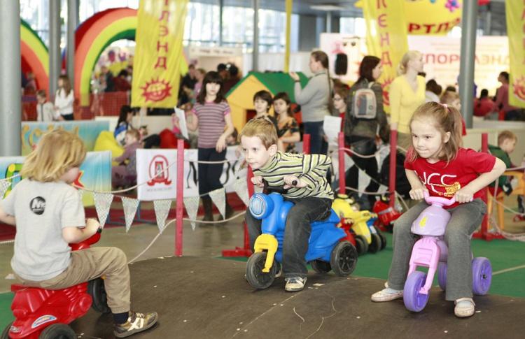 На ВДНХ откроется интерактивная выставка «Спортлэнд — территория детства»