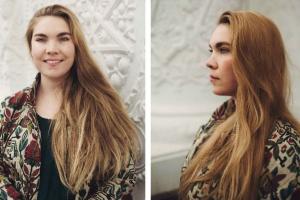 Девушка с косой – выставка Ульяны Подкорытовой