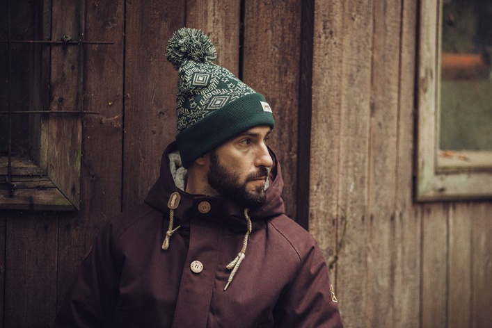 30 мужских шапок