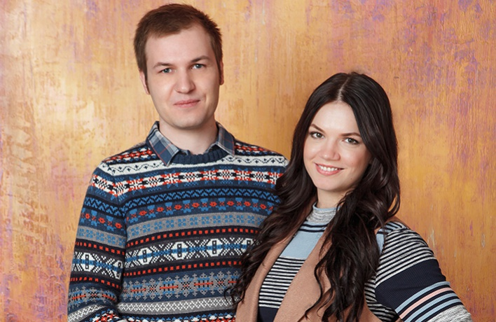 Юлия и Александр собираются на свидание