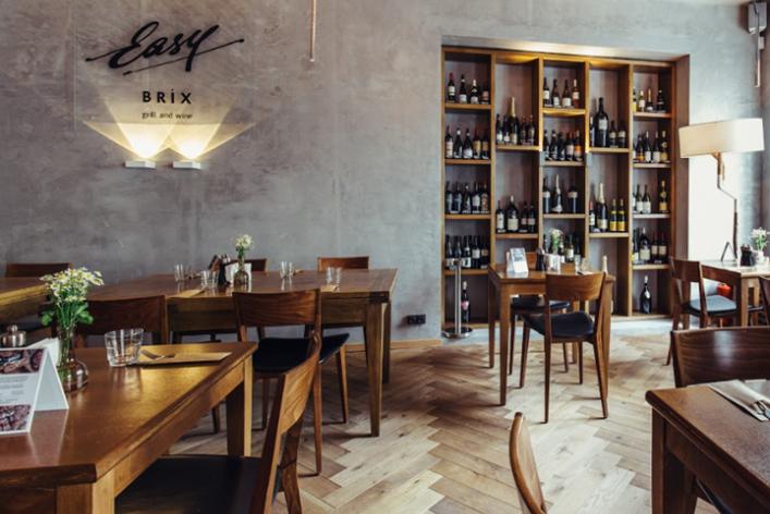 Винный бар Easy Brix Grill & Wine переехал и снова открылся по адресу Пятницкая, 73