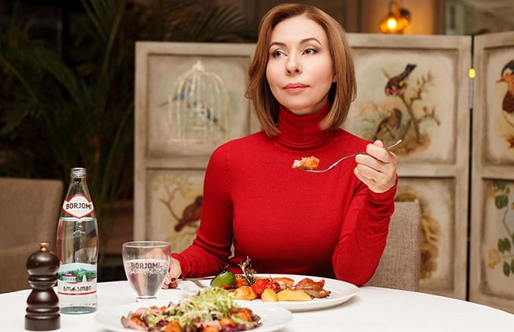 Поздний ужин с телеведущей Еленой Усановой