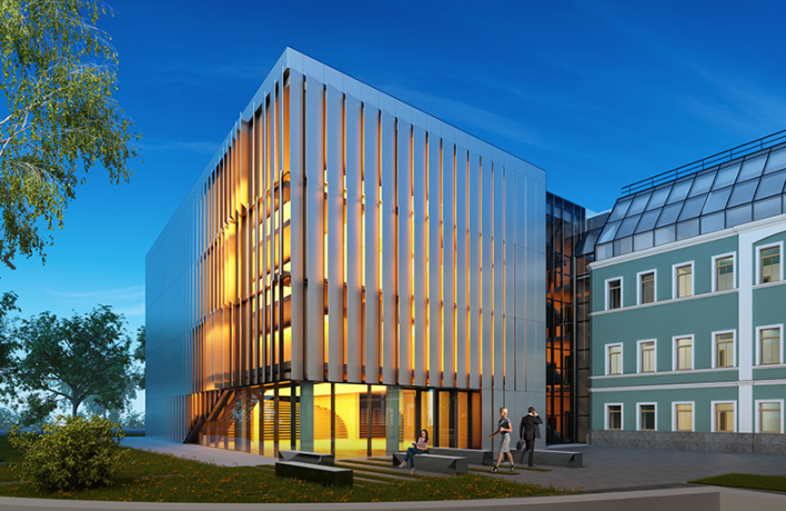 В Москве появится музей с фасадом-хамелеоном