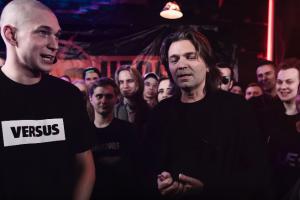 Дмитрий Маликов пришел на рэп-баттл Versus
