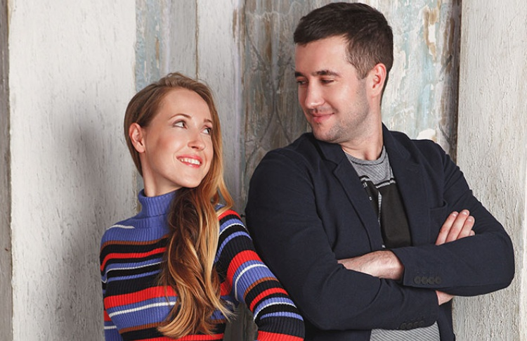 Дарья и Александр собираются на свидание