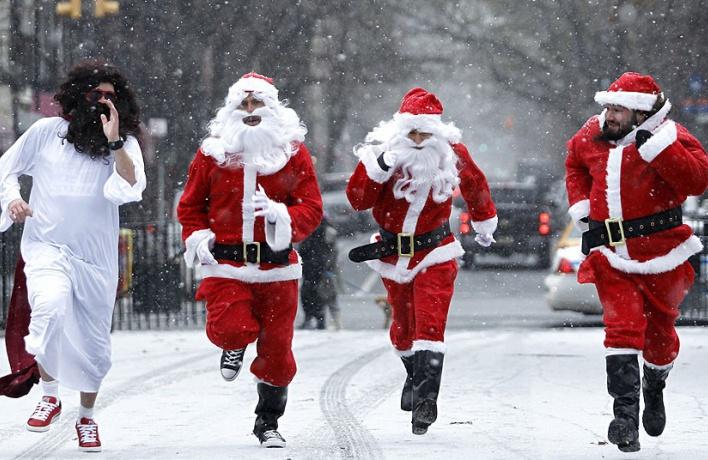 На ВДНХ проведут забег Дедов Морозов