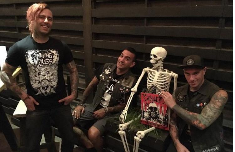 Презентация нового альбома группы The Casualties