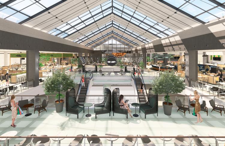 1 декабря – открытие нового ресторанного пространства The Loft в торговом центре МЕТРОПОЛИС