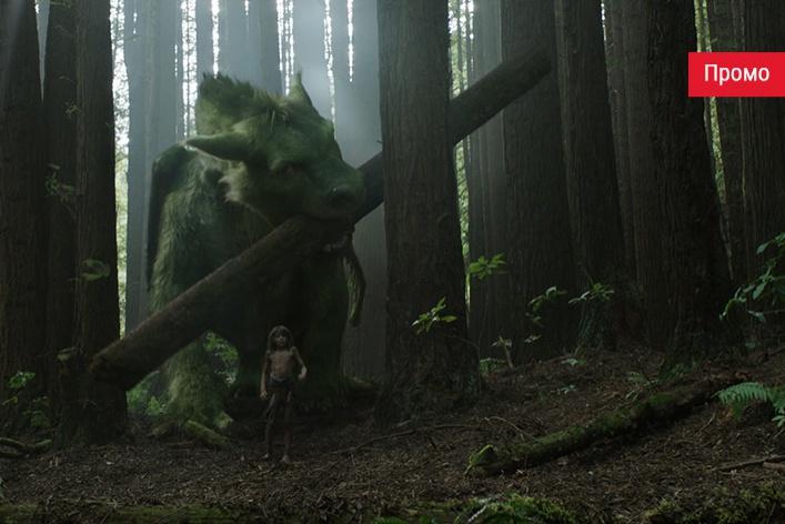 Disney рассказал как снимали фильм «Пит и его дракон»