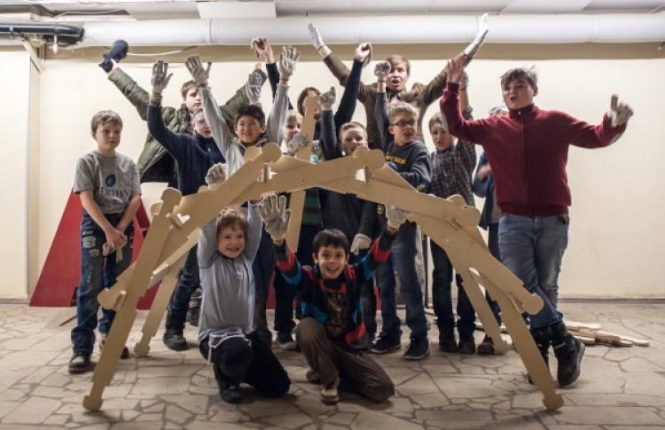 Ребят научат строить мосты