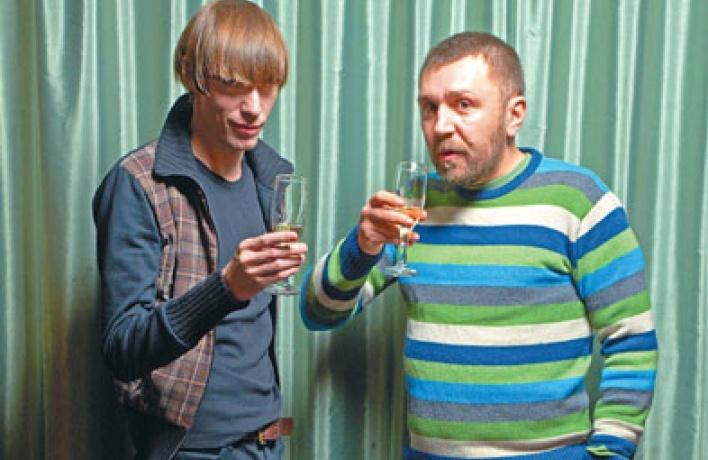 Интервью: Олег Гитаркин иСергей Шнуров