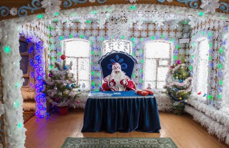 Главный Дед Мороз в Городе мастеров