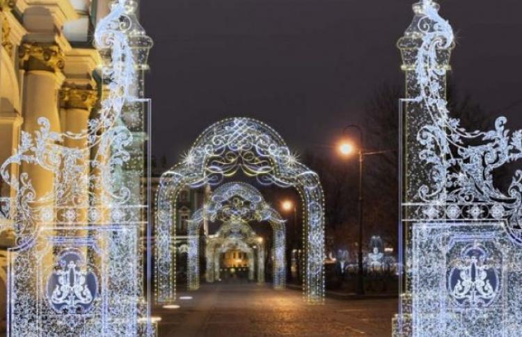 Как Петербург украсят к Новому году