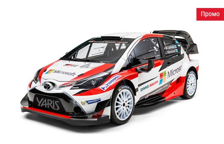 Toyota в WRC: легенда мирового ралли готова к новым победам