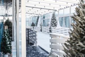 Как выглядит каток на крыше небоскреба в «Москва-Сити»?