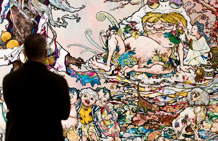 В 2017 году в «Гараже» пройдет выставка Такаси Мураками