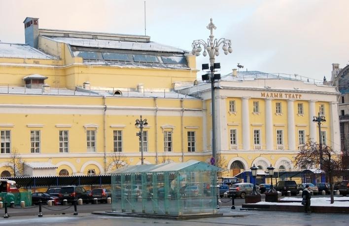 Историческое строение Малого театра открылось после реконструкции