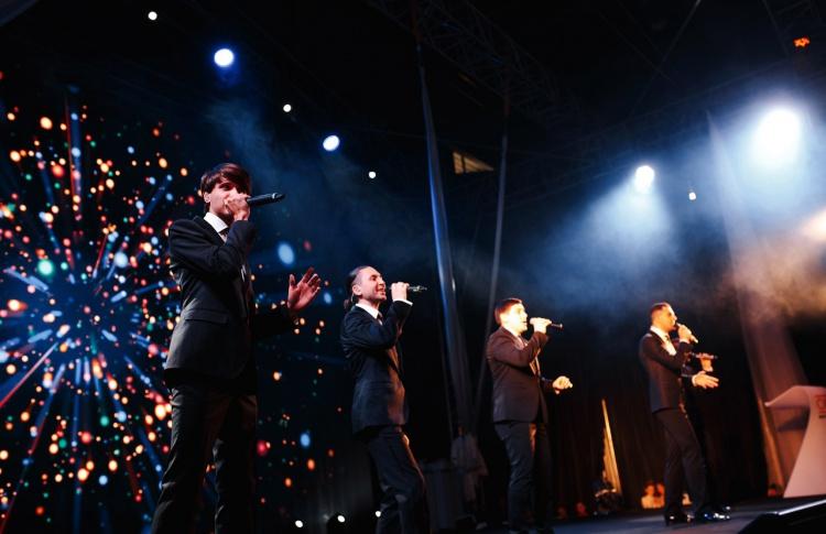 Рождественский концерт A cappella band PLUSFIVE