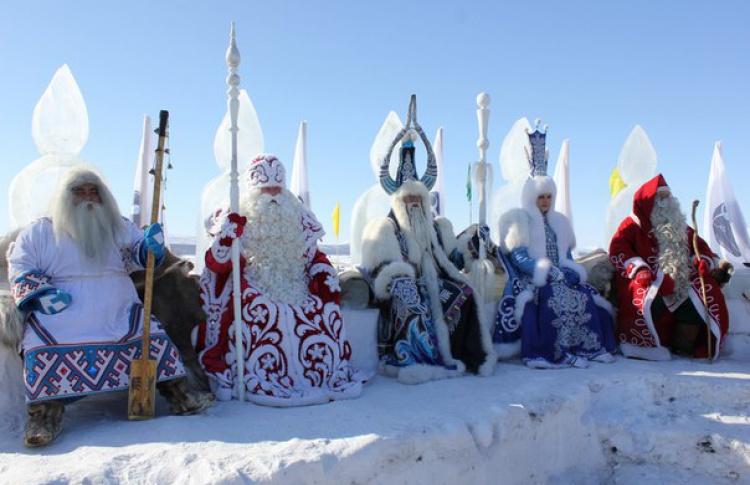 Фестиваль Дедов Морозов состоится в этнографическом парке «Россия — зимние узоры»