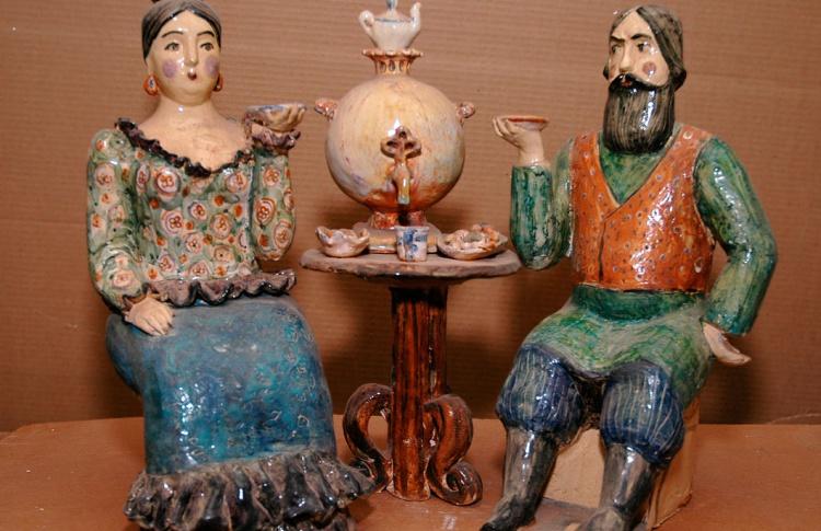 Выставка произведений Татьяны Бусыревой
