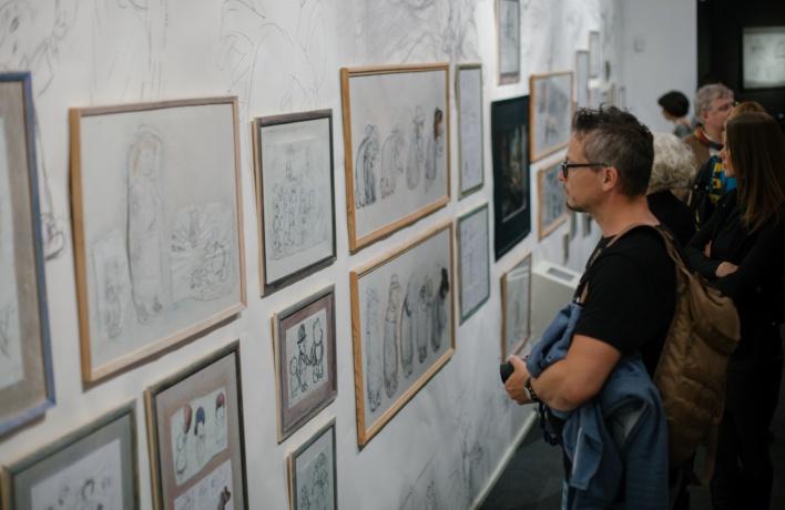 «Каждый вечер перед сном»: юбилейная выставка Юрия Норштейна в Государственной галерее на Солянке