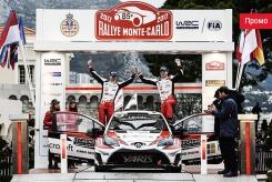 Без раскачки: Toyota открывает календарь чемпионата мира по ралли местом на пьедестале