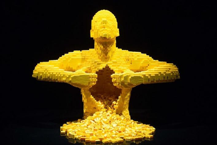 В «Экспоцентре» откроется большая выставка «Искусство Lego»