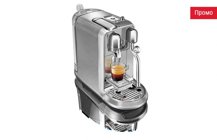 Кофемашина Nespresso Creatista Plus: от приготовления кофе к созданию истинных шедевров