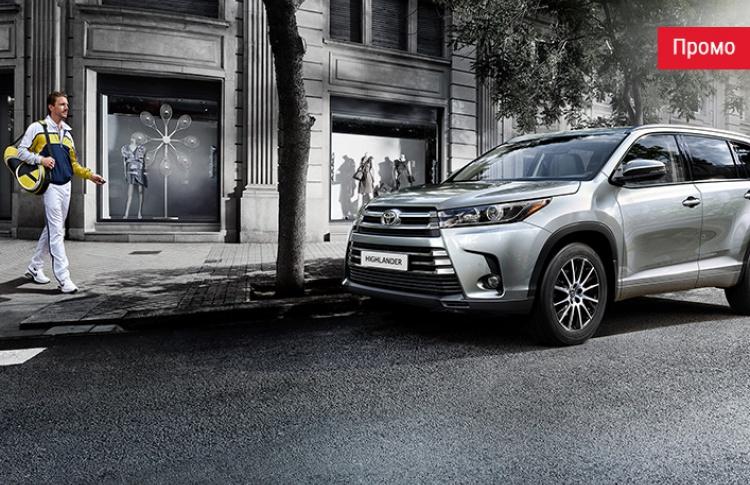 По максимуму: Toyota Highlander вернулся в салоны официальных дилеров в топовом оснащении