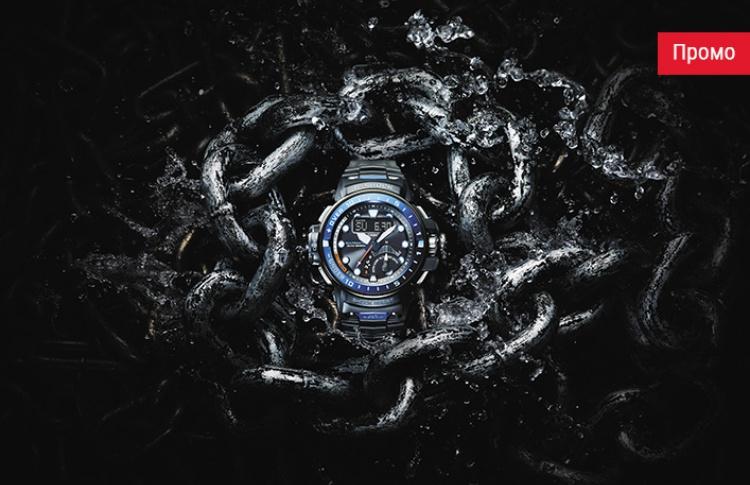 G-SHOCK GULFMASTER - новые часы с четырьмя датчиками для настоящих моряков