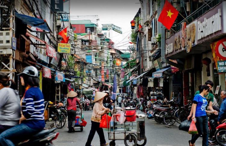 Фестиваль уличной вьетнамской еды