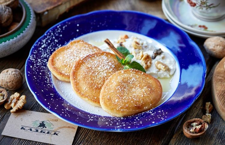 В грузинском «Казбеке» появились завтраки