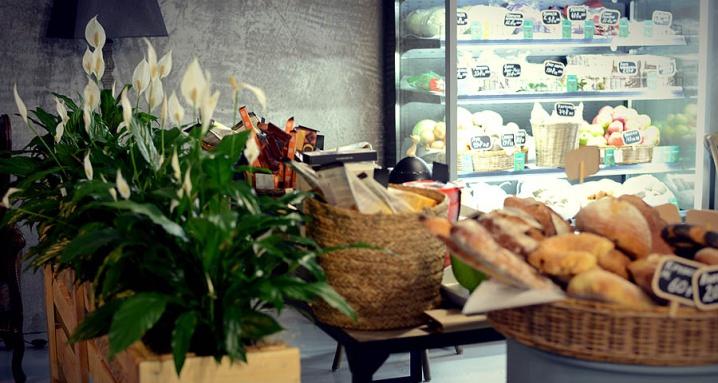 Botteganova organic store