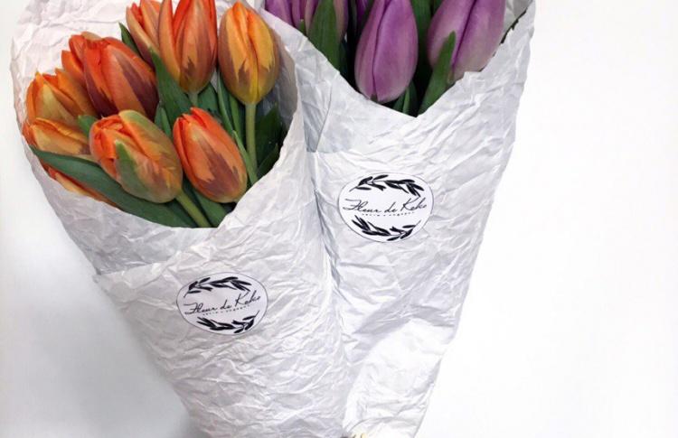 Цветочная мастерская Fleur de Koko объявляет акцию «9 тюльпанов»