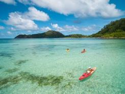Сказочный отель в Индийском океане